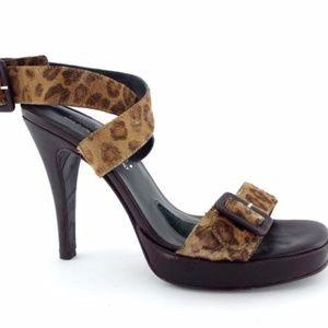 Donald Pliner couture heel sandals.